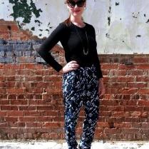 Sans Blazer/Vest Shirt: Champion Pants: Mossimo Shoes: BCBG Watch: Kate Spade Sunglasses: Colehaan Earrings/Necklace: Bealles Purse: Nine West