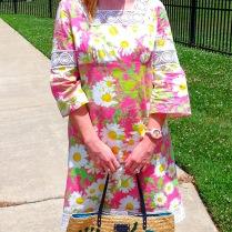 Dress: Lilly Pulitzer Shoes: Dexter Bag: Kate Spade Sunnies: Franco Sarto Earrings: Bealles Watch: Kate Spade