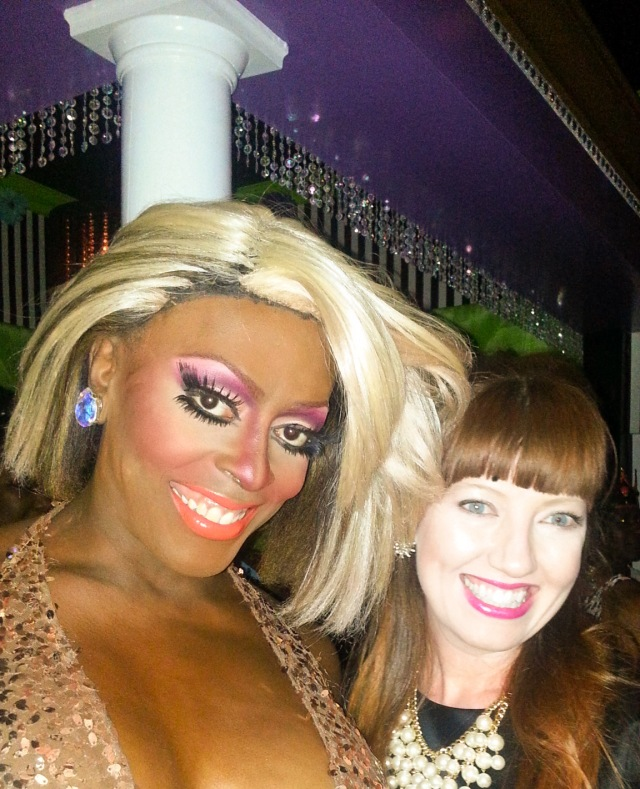 Me and one of the lovely ladies of Lips!