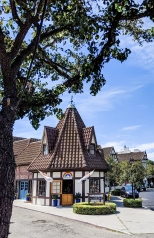 Beautiful architecture of Solvang...
